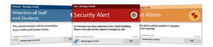 notify alert